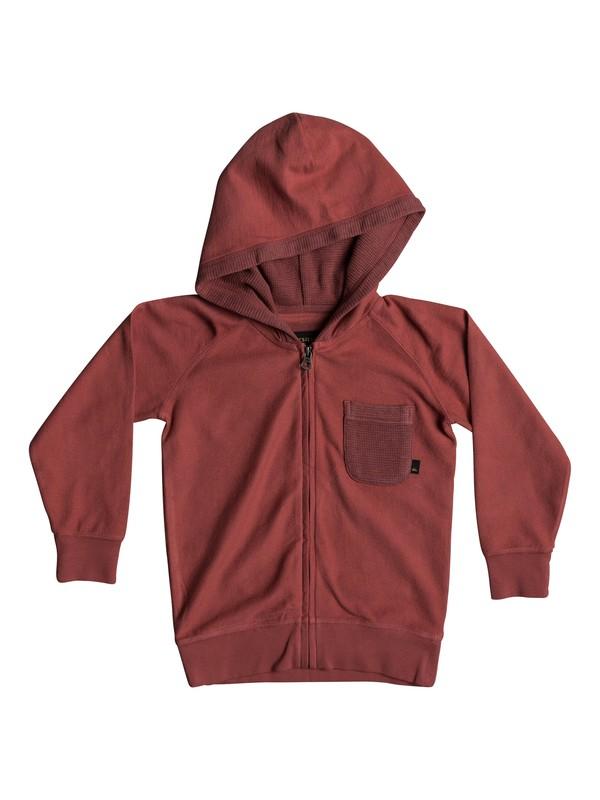 0 Baao - Zip-Up Hoodie Pink EQKFT03248 Quiksilver
