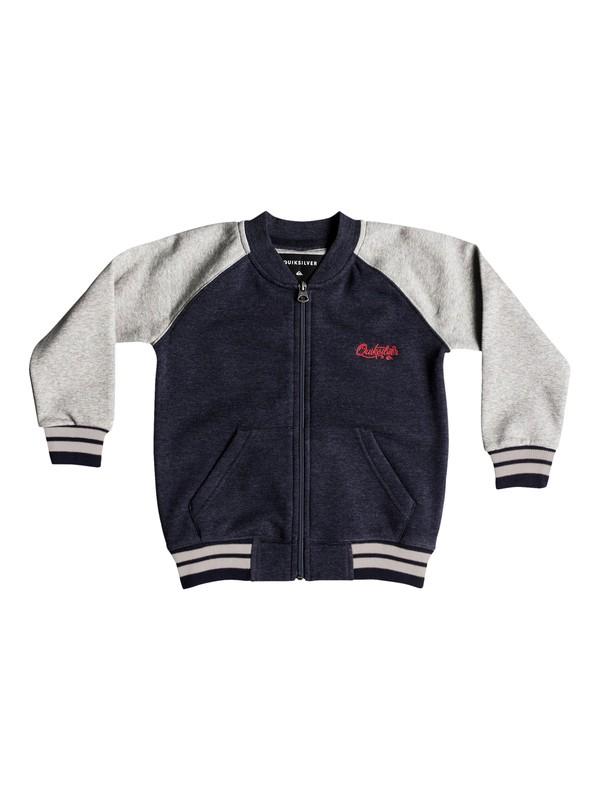 0 You Koso - Bomber Sweatshirt for Boys 2-7 Blue EQKFT03260 Quiksilver