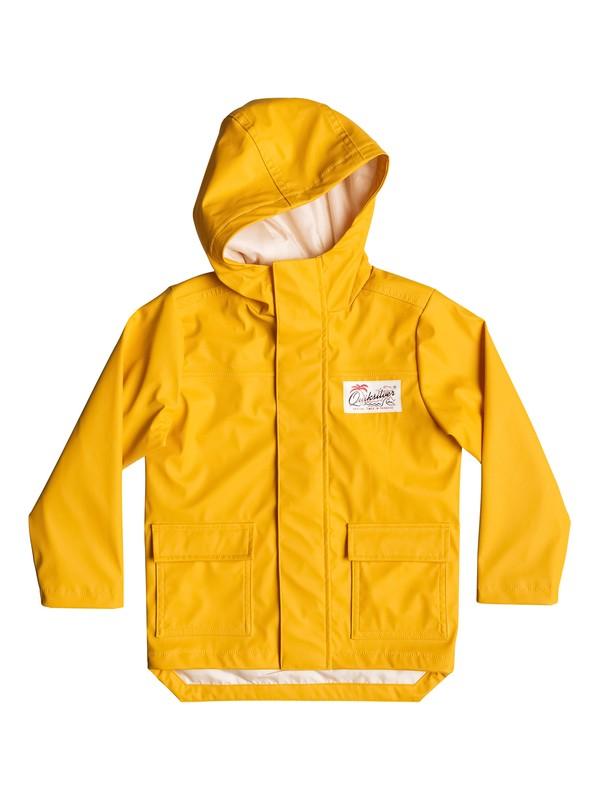 0 Deep Rain - Imperméable jaune  EQKJK03070 Quiksilver