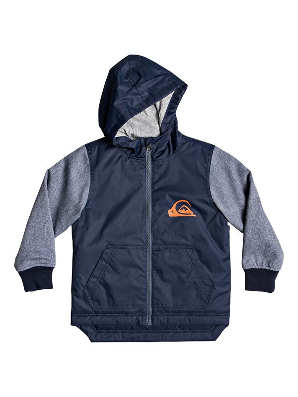 0 Monks Of Doom - Hooded Parka for Boys 2-7 Blue EQKJK03095 Quiksilver