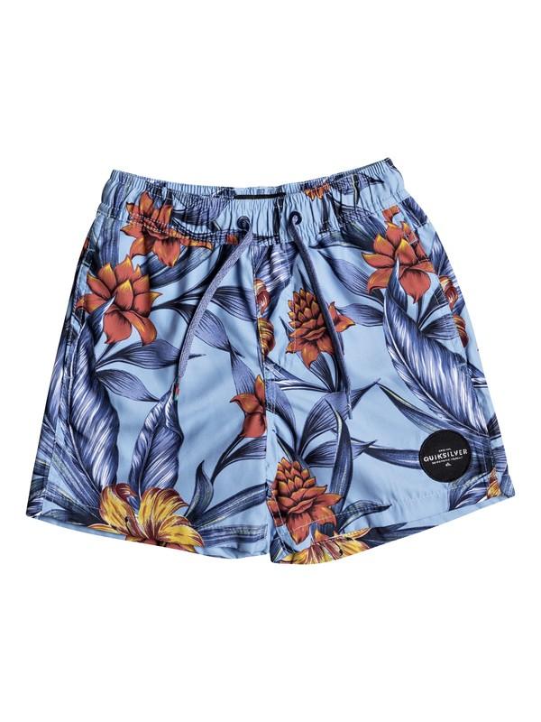 "0 Pua 12"" - Swim Shorts Blue EQKJV03041 Quiksilver"