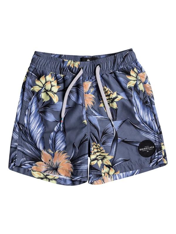 "0 Pua 12"" - Swim Shorts Black EQKJV03041 Quiksilver"