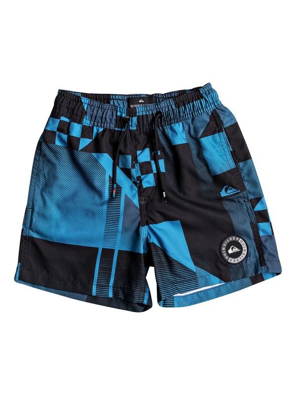 "0 Checker 12"" - Swim Shorts for Boys 2-7 Blue EQKJV03042 Quiksilver"