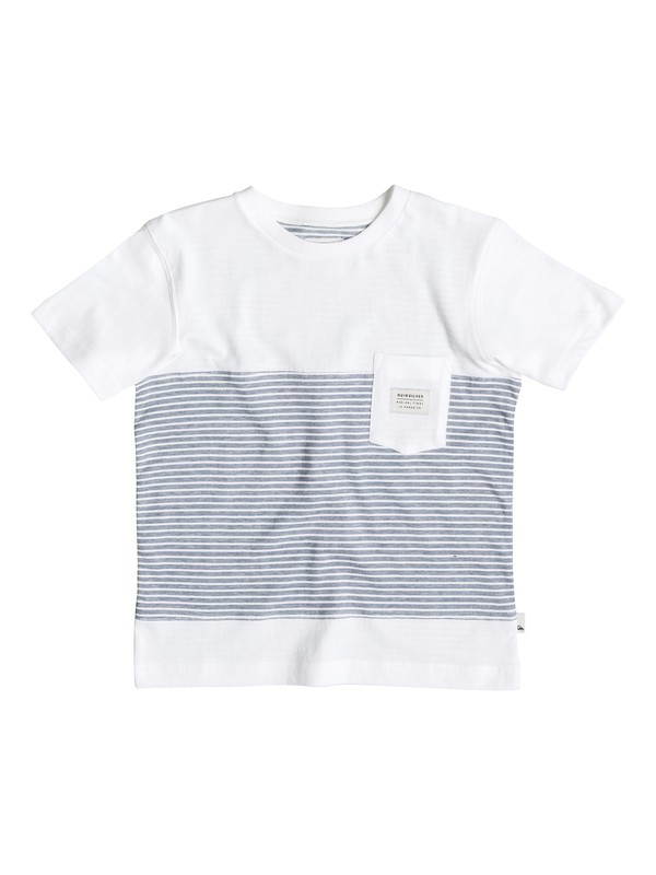 0 Boy's 2-7 Full Tide Pocket Tee  EQKKT03063 Quiksilver