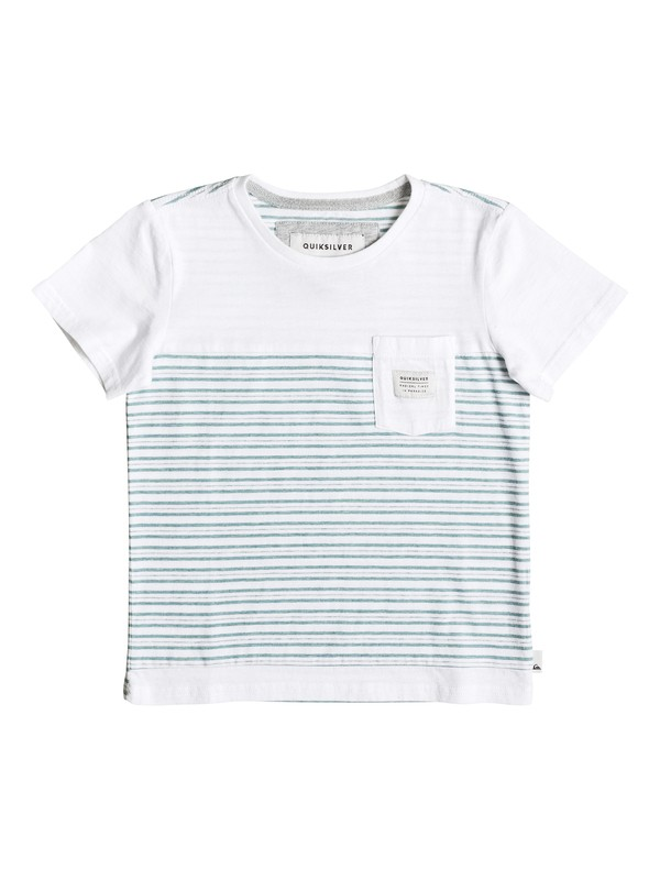 0 Boy's 2-7 Full Tide Pocket Tee  EQKKT03090 Quiksilver