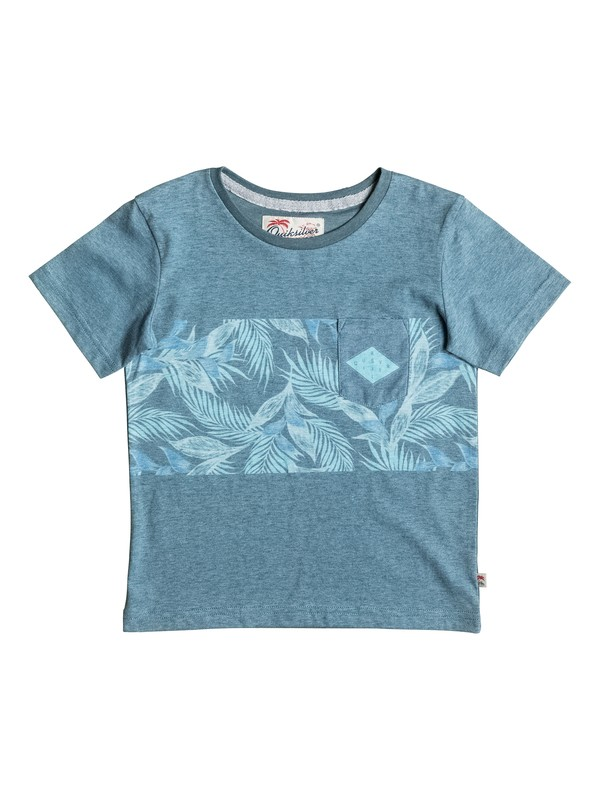 0 Faded Time - Tee-Shirt à poche  EQKKT03094 Quiksilver