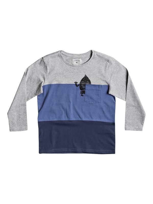 0 Konbo - Long Sleeve T-Shirt Blue EQKKT03104 Quiksilver