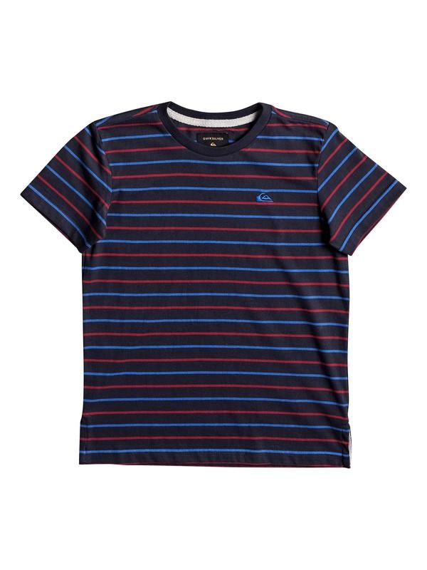 0 Lukut Stripe - Camiseta  EQKKT03107 Quiksilver