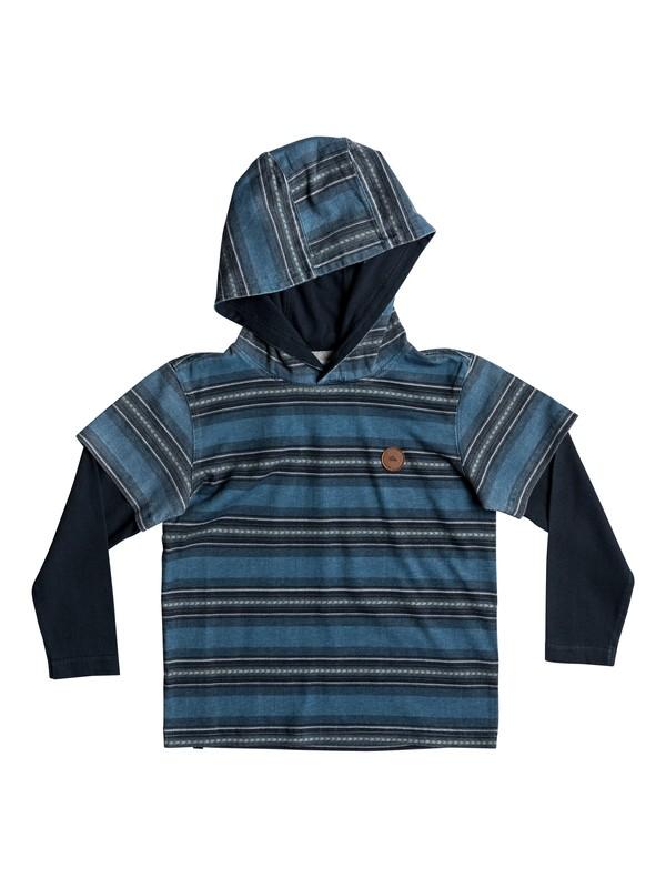 0 Haleiwa - Hooded Long Sleeve T-Shirt  EQKKT03123 Quiksilver