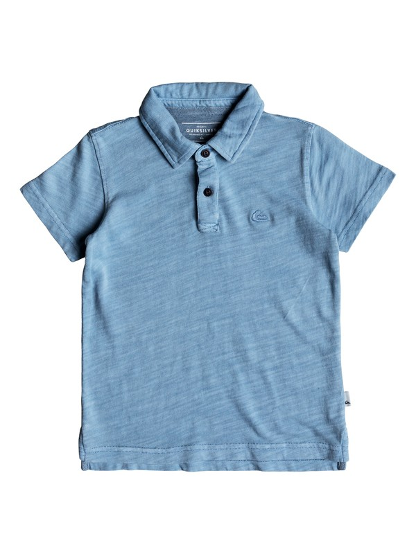 0 Boys 2-7 Everyday Sun Cruise - Polo Shirt Blue EQKKT03129 Quiksilver