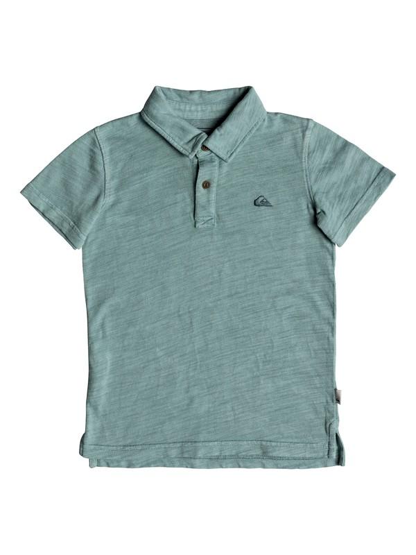 0 Boy's 2-7 Everyday Sun Cruise Short Sleeve Polo Shirt Blue EQKKT03129 Quiksilver