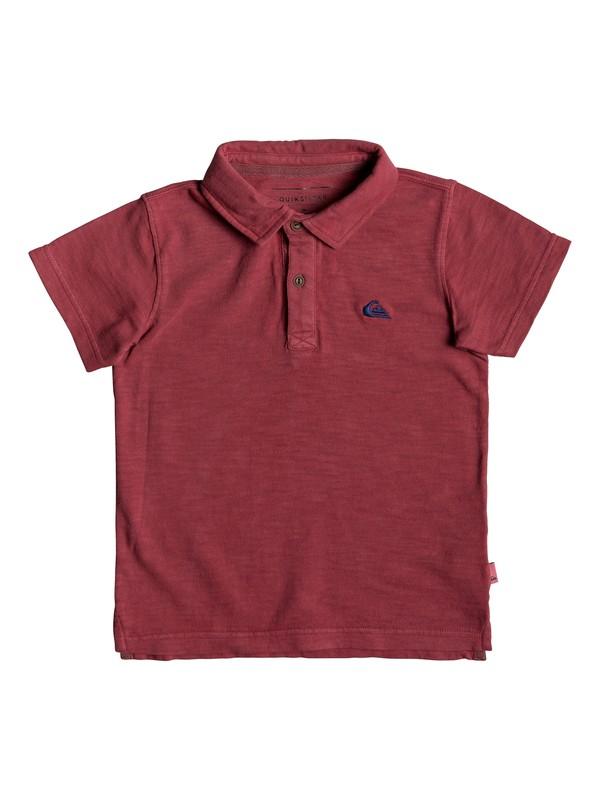 0 Boy's 2-7 Everyday Sun Cruise Short Sleeve Polo Shirt Red EQKKT03129 Quiksilver