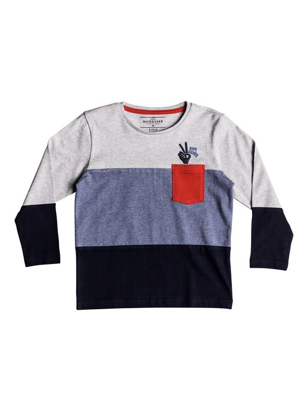 0 Majestic Qasi - Long Sleeve T-Shirt for Boys 2-7 Blue EQKKT03134 Quiksilver