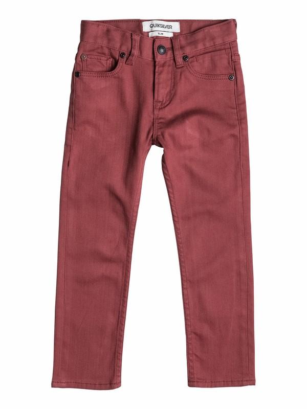 0 Distortion Colors - Jean slim fit  EQKNP03019 Quiksilver