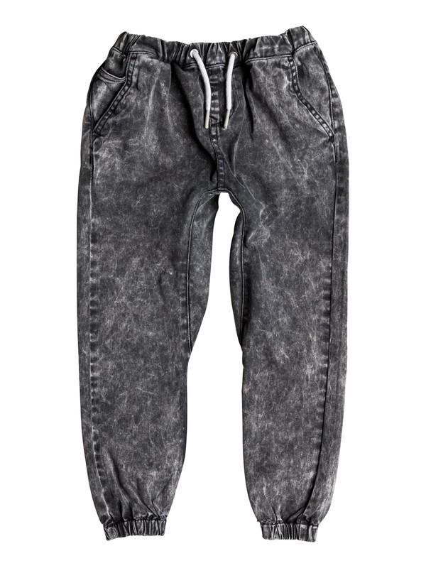 0 Outta My Way - Pantalon Molleton Effet Denim  EQKNP03026 Quiksilver