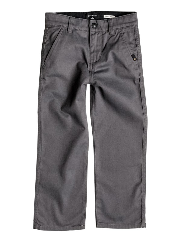 0 Niños 2-7  Chinos Everyday Union Negro EQKNP03033 Quiksilver