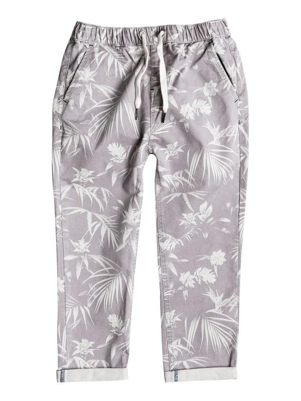 0 Last Jungle - Pantalon chino  EQKNP03038 Quiksilver