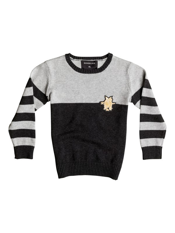 0 Wounded Pride - Sweater Gray EQKSW03016 Quiksilver