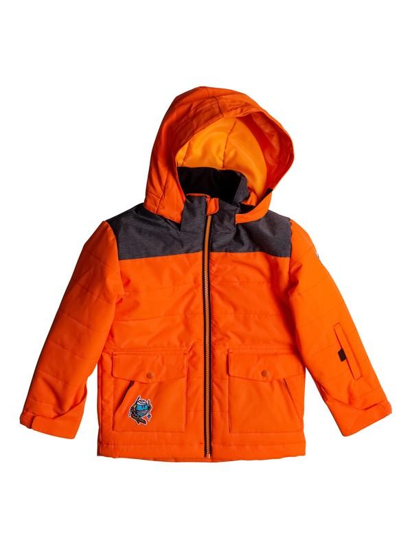 0 Mr Men Edgy - Snow Jacket Orange EQKTJ03005 Quiksilver