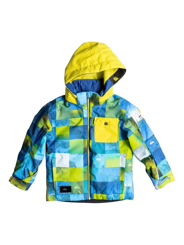 0 Boy's 2-7 Little Mission Snow Jacket  EQKTJ03006 Quiksilver