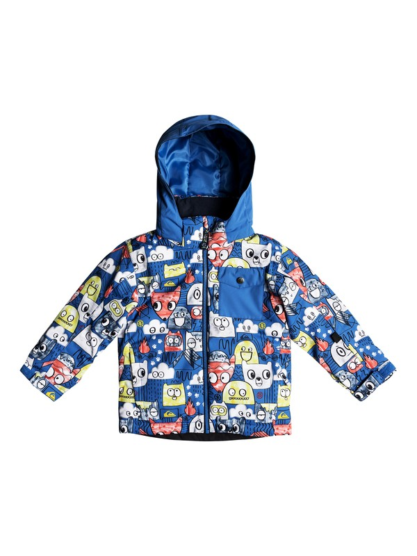 0 Little Mission - Snow Jacket for Boys 2-7 Blue EQKTJ03009 Quiksilver
