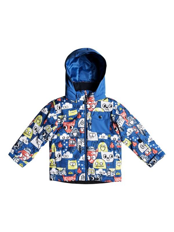 0 Boy's 2-7 Little Mission Snow Jacket Blue EQKTJ03009 Quiksilver
