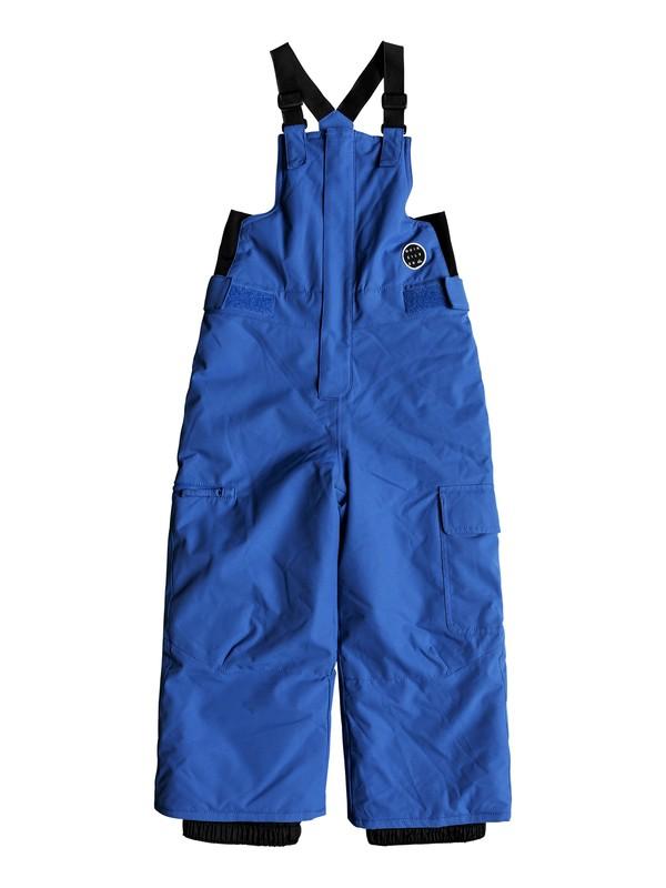0 Boy's 2-7 Boogie Snow Pants Blue EQKTP03003 Quiksilver