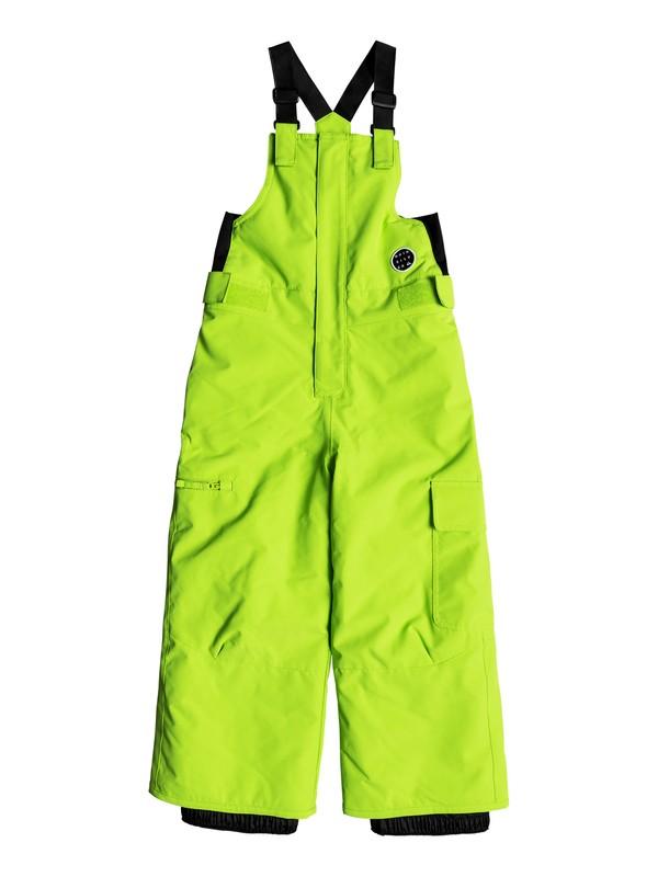 0 Boy's 2-7 Boogie Snow Pants Green EQKTP03003 Quiksilver