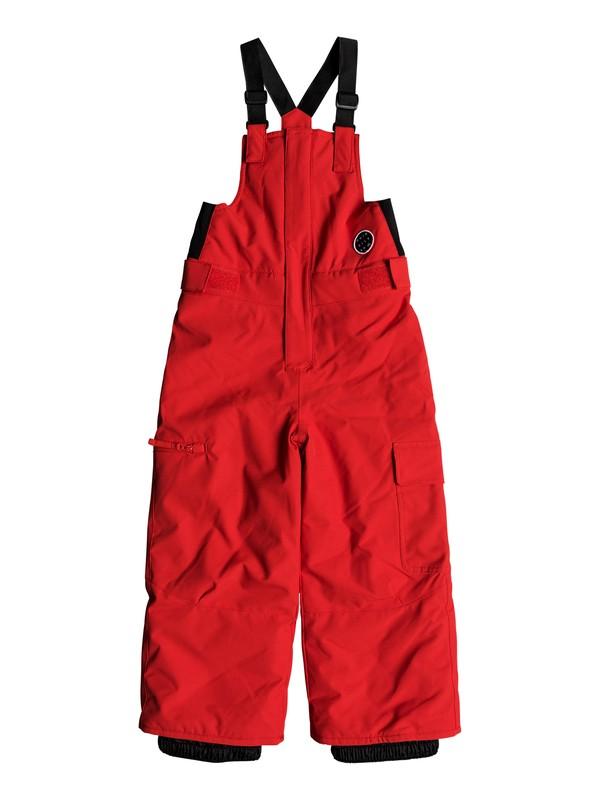 0 Boy's 2-7 Boogie Snow Pants Red EQKTP03003 Quiksilver