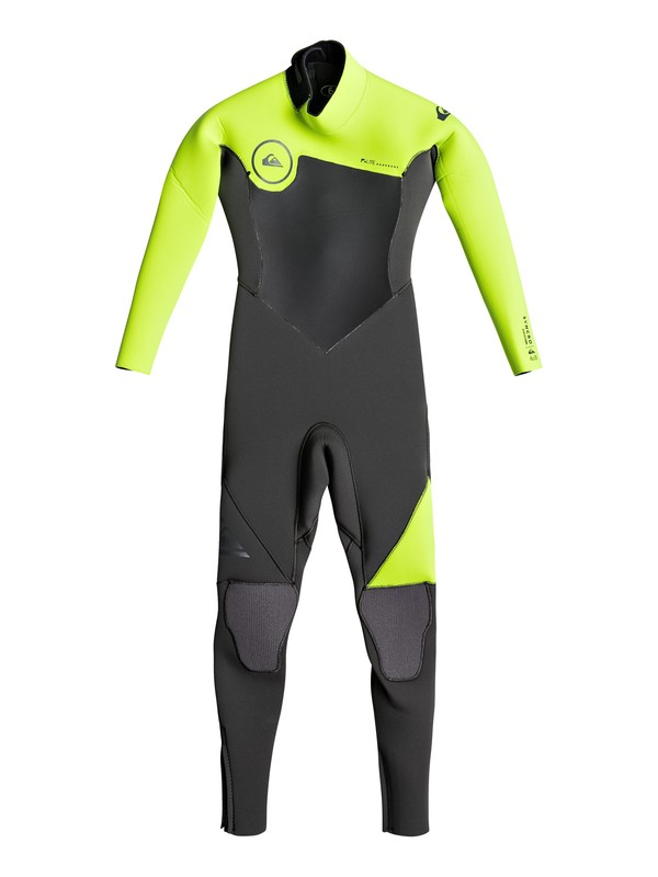 0 3/2mm Syncro Series - Back Zip GBS Wetsuit for Boys 2-7 Black EQKW103001 Quiksilver