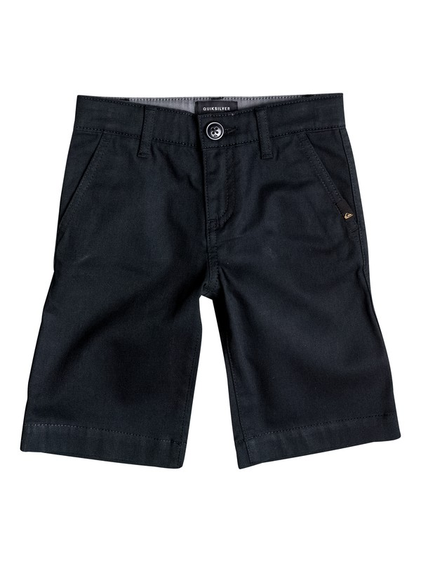 0 Niños 2-7  Shorts Elásticos Chino Union Everyday Negro EQKWS03061 Quiksilver