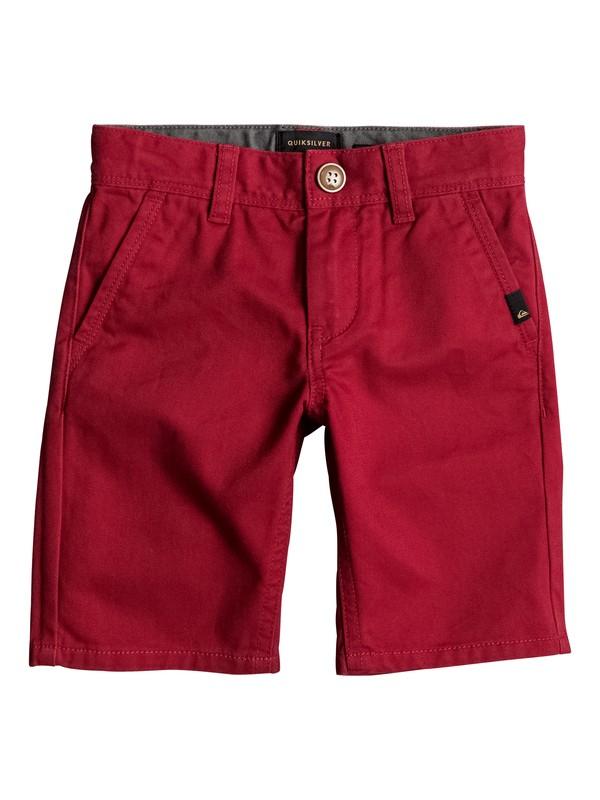 0 Everyday - Chino Shorts Rot EQKWS03088 Quiksilver