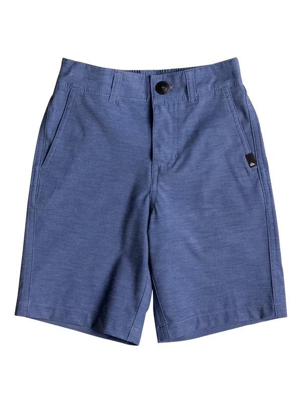 "0 Boy's 2-7 Union Heather Amphibian 14"" Amphibian Shorts  EQKWS03111 Quiksilver"