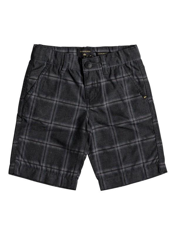 0 Boys 2 - 7 Regeneration Chino Shorts Black EQKWS03132 Quiksilver