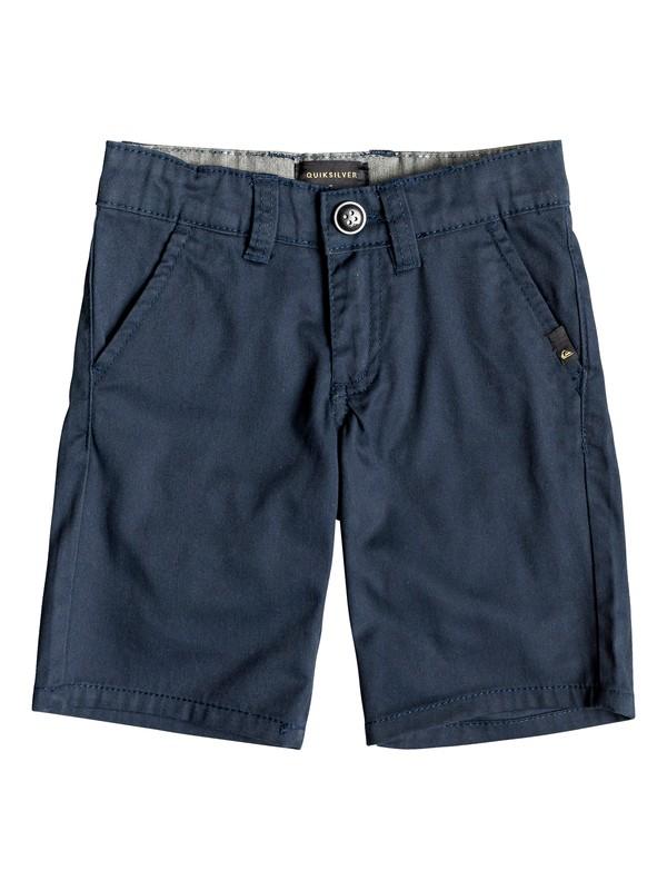 "0 Everyday Union Stretch 24"" Chino Shorts Azul EQKWS03134 Quiksilver"