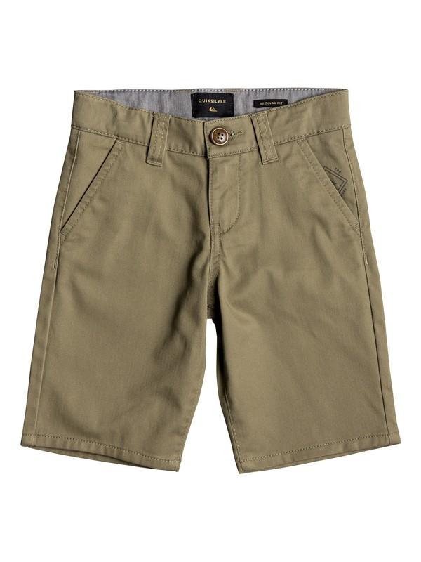 0 Everyday Union - Chino Shorts Beige EQKWS03134 Quiksilver