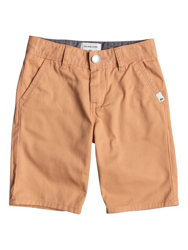 0 Everyday Light - Chino Shorts for Boys 2-7 Orange EQKWS03135 Quiksilver