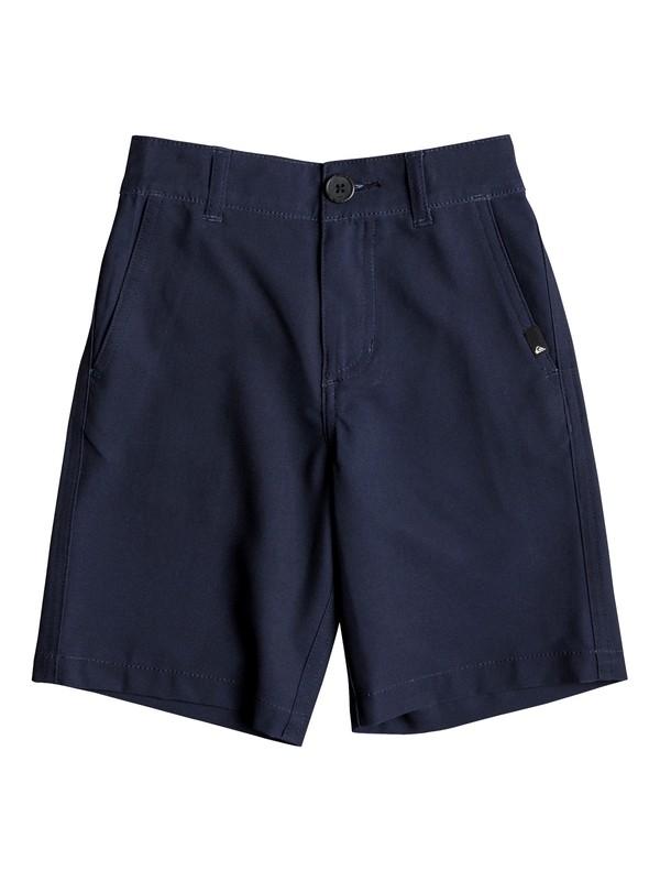 "0 Boys 2 - 7 Union 14"" Amphibian Shorts Blue EQKWS03141 Quiksilver"