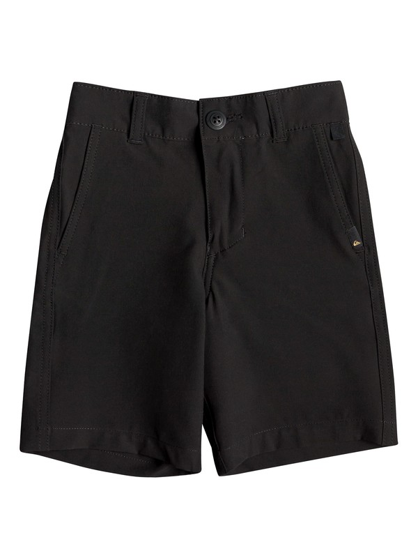"0 Boy's 2-7 Union 14"" Amphibian Boardshorts Black EQKWS03167 Quiksilver"