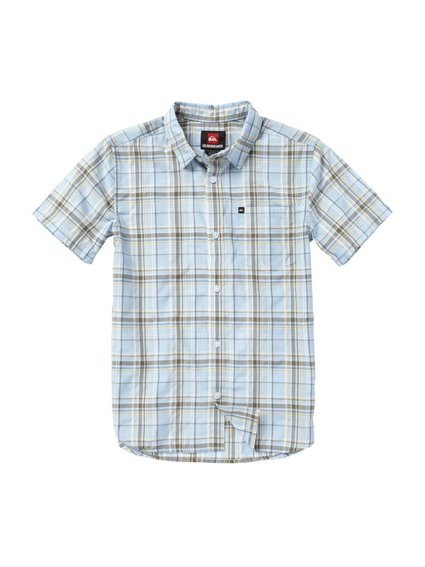 0 Boys 2-7 Engineer Pat Short Sleeve Shirt  EQKWT00006 Quiksilver