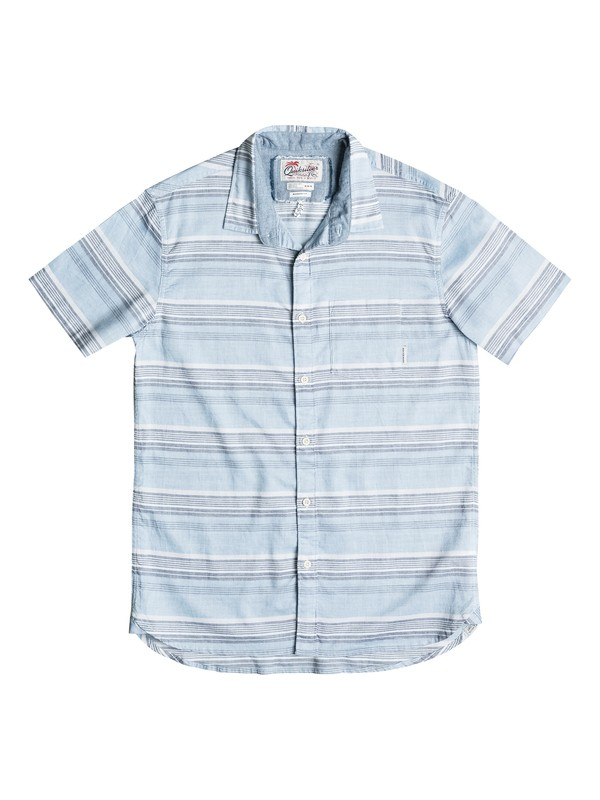 0 Boy's 2-7 The Aventail Short Sleeve Shirt  EQKWT03077 Quiksilver