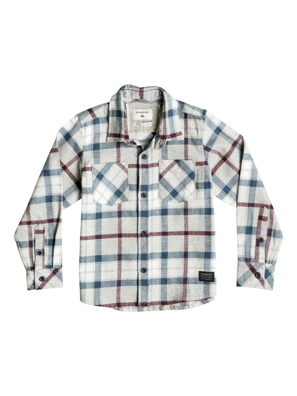 0 Boy's 2-7 Fitzthrower Flannel Long Sleeve Shirt  EQKWT03080 Quiksilver