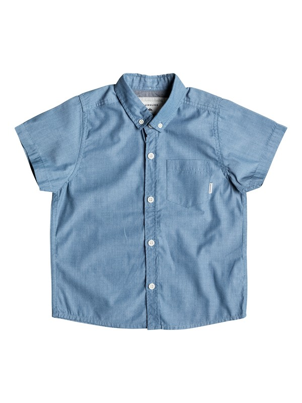 0 Boy's 2-7 Everyday Wilsden Short Sleeve Shirt  EQKWT03086 Quiksilver