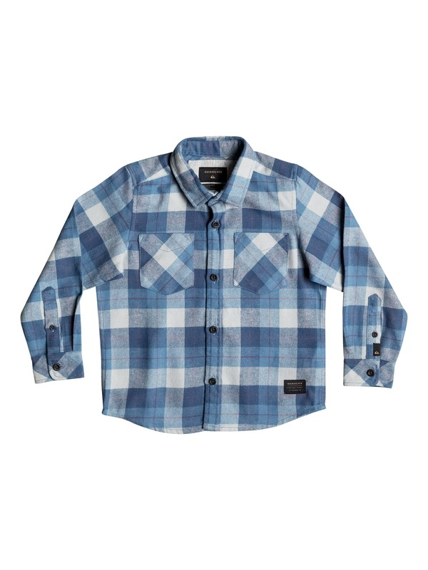 0 Boy's 2-7 Major Reform Long Sleeve Shirt  EQKWT03095 Quiksilver