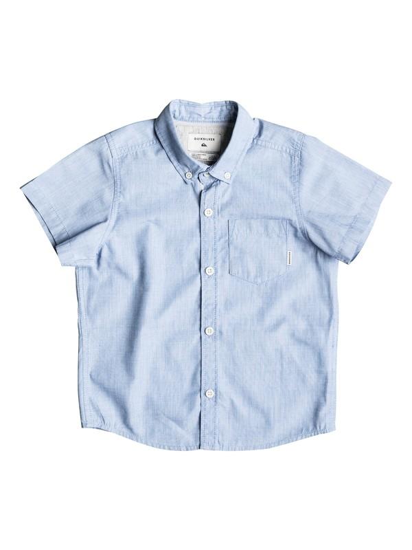 0 Boy's 2-7 Everyday Wilsden Short Sleeve Shirt  EQKWT03109 Quiksilver