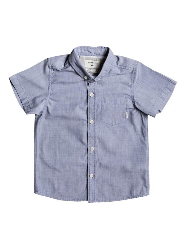 0 Everyday Wilsden Short Sleeve Shirt  EQKWT03121 Quiksilver