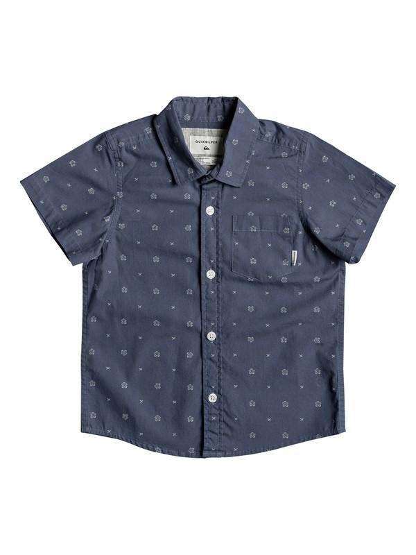 0 Рубашка с коротким рукавом Kamanoa Синий EQKWT03129 Quiksilver