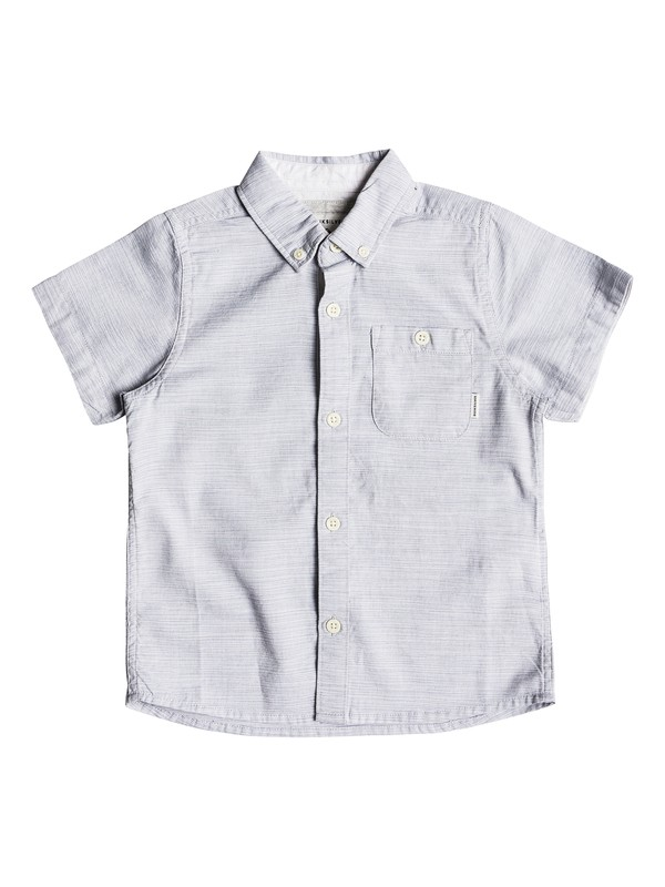 0 Boy's 2-7 Waterfall Short Sleeve Shirt  EQKWT03130 Quiksilver