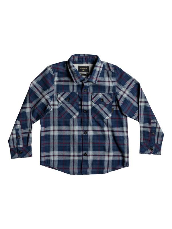 0 Boy's 2-7 Fitzspeere Long Sleeve Shirt Blue EQKWT03135 Quiksilver