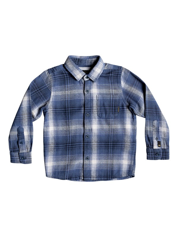 0 Fatherfly - Long Sleeve Shirt for Boys 2-7 Blue EQKWT03143 Quiksilver